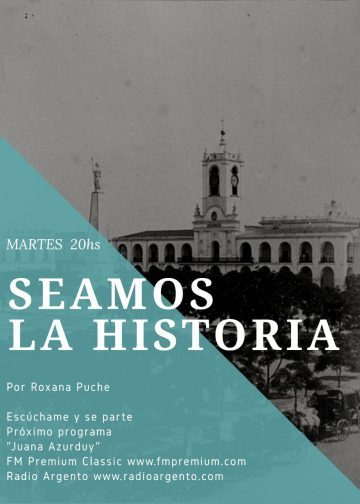 Hoy a partir de las 20hs. Te invitamos a escuchar el Programa Seamos La Historia Tema «Juana Azurduy»
